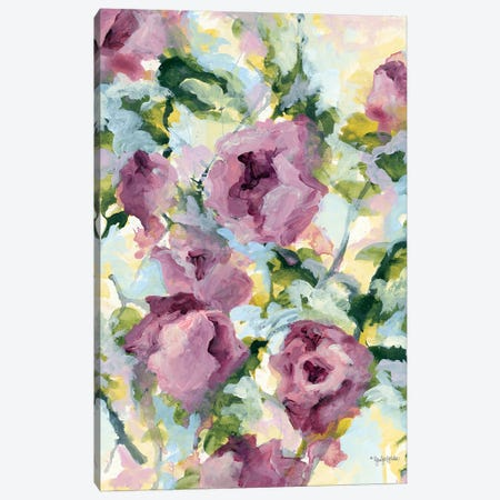Abstract Floral Canvas Print #JEH25} by Jennifer Holden Canvas Print