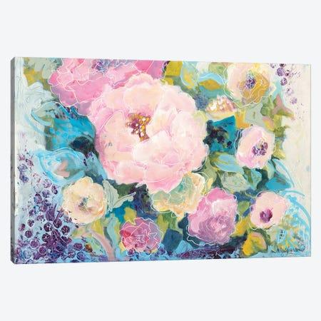 Fresh Florals Canvas Print #JEH28} by Jennifer Holden Canvas Art