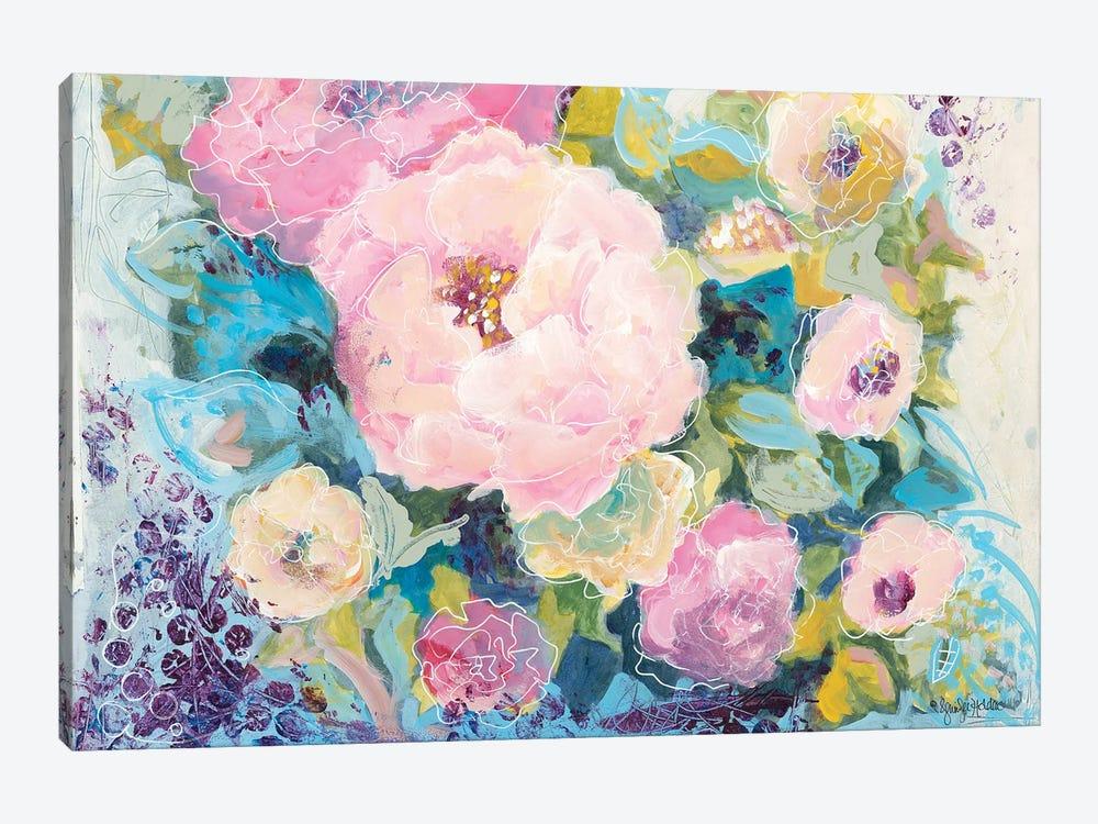 Fresh Florals by Jennifer Holden 1-piece Canvas Art