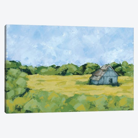 Spring Meadow Canvas Print #JEH29} by Jennifer Holden Canvas Wall Art