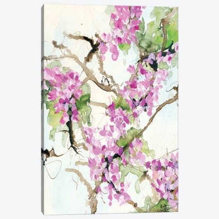 Wisteria in Bloom Canvas Print #JEH30} by Jennifer Holden Canvas Art Print