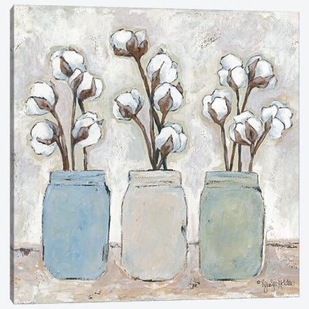 Cotton Cottage Canvas Print #JEH3} by Jennifer Holden Canvas Art