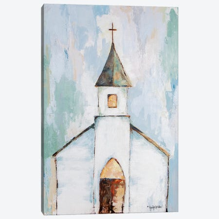 Near the Cross Canvas Print #JEH8} by Jennifer Holden Canvas Artwork