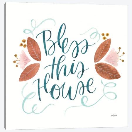 Home Sweet Home IV Canvas Print #JEJ102} by Jenaya Jackson Canvas Art