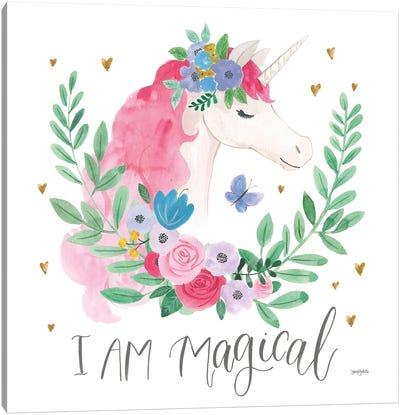 I Am Magical Friends III Butterfly Canvas Art Print