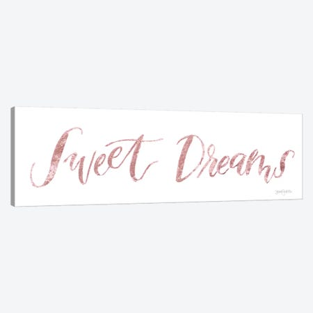 Sweet Baby Girl, Pink II Canvas Print #JEJ18} by Jenaya Jackson Art Print