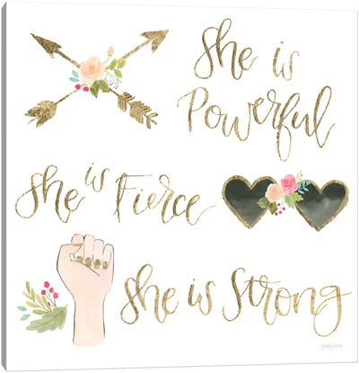 Girl Power IV Canvas Art Print