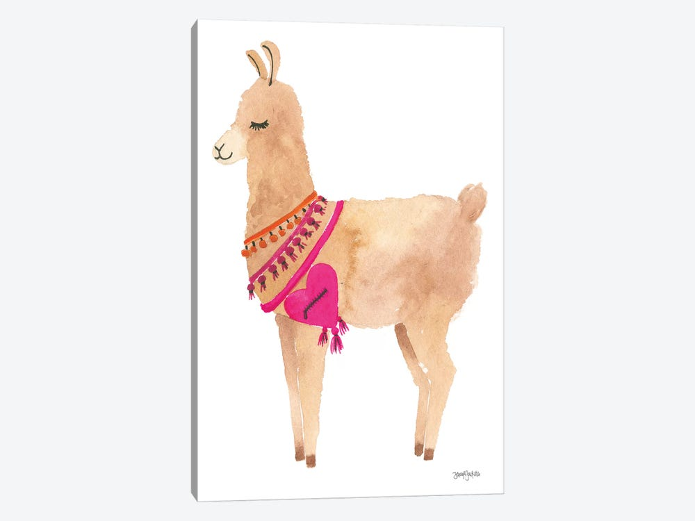 La La Llama IV by Jenaya Jackson 1-piece Canvas Art