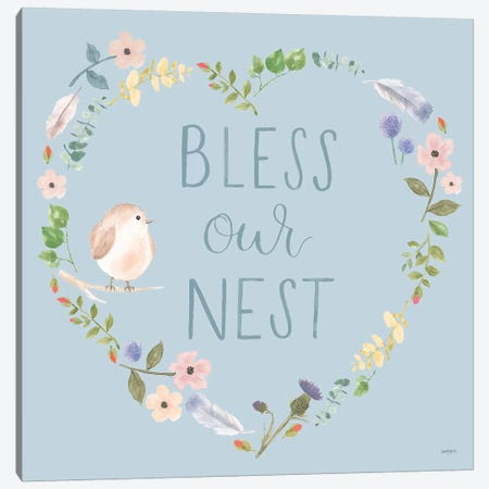 Spring Sentiments VII Canvas Print #JEJ28} by Jenaya Jackson Canvas Artwork