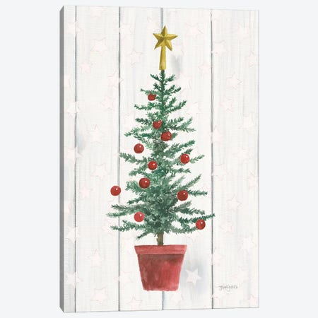 Welcome Christmas IV Canvas Print #JEJ44} by Jenaya Jackson Canvas Print
