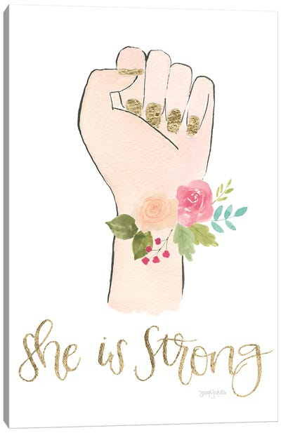 Girl Power X Canvas Art Print