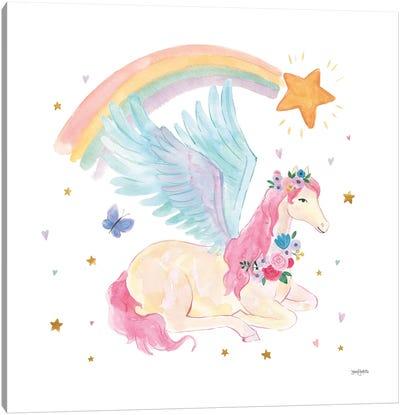 Magical Friends II Butterfly Canvas Art Print