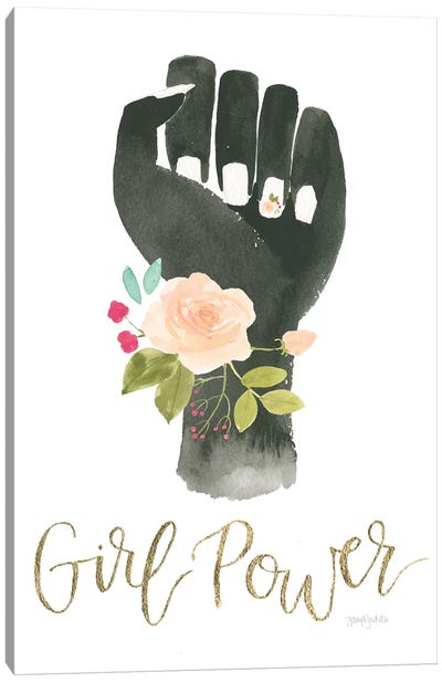 Girl Power XI Canvas Art Print