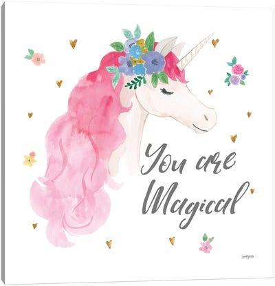 Magical Friends III You are Magical Canvas Art Print
