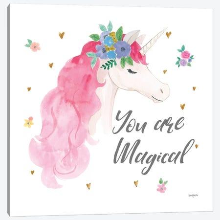 Magical Friends III You are Magical 3-Piece Canvas #JEJ73} by Jenaya Jackson Canvas Art Print