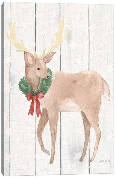 Welcome Christmas III Canvas Art Print