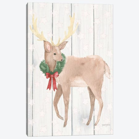 Welcome Christmas III Canvas Print #JEJ75} by Jenaya Jackson Canvas Wall Art