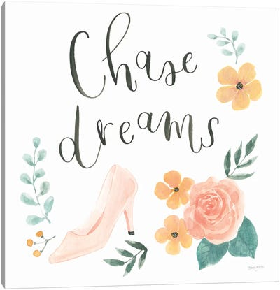 Chase Dreams I Canvas Art Print