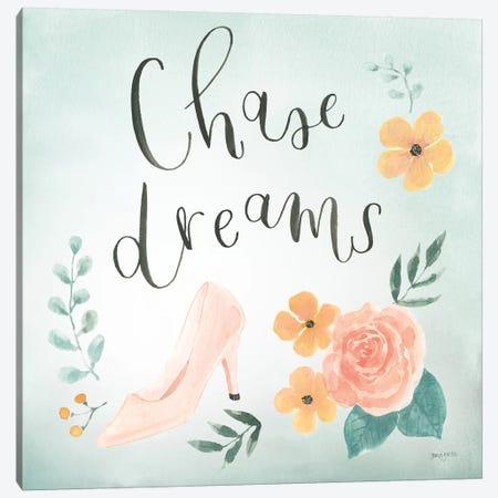 Chase Dreams I Green Canvas Print #JEJ79} by Jenaya Jackson Art Print