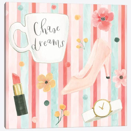 Chase Dreams Pattern V Canvas Print #JEJ86} by Jenaya Jackson Art Print