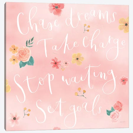 Chase Dreams Pattern VIA Canvas Print #JEJ88} by Jenaya Jackson Canvas Wall Art