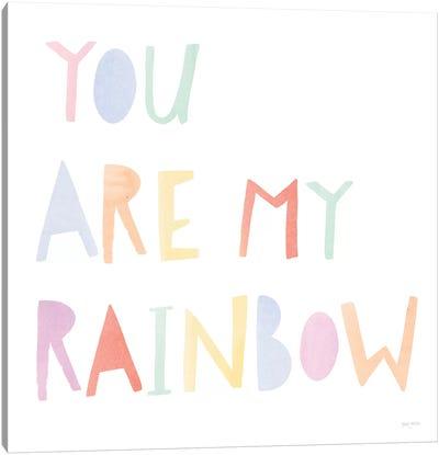 Lets Chase Rainbows X Canvas Art Print