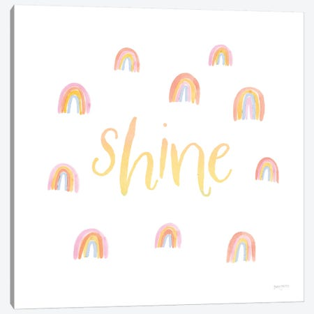 Lets Chase Rainbows XII Canvas Print #JEJ92} by Jenaya Jackson Canvas Art Print