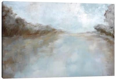 Through The Haze Canvas Art Print