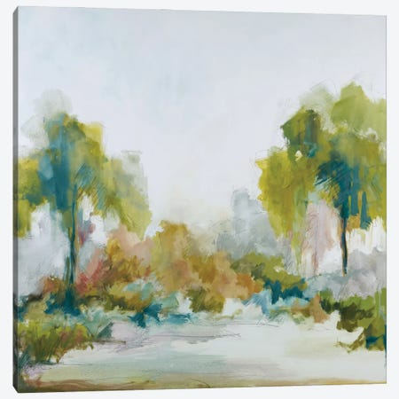Lush Spring Canvas Print #JEL9} by Jacqueline Ellens Canvas Art