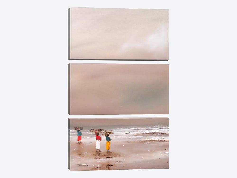 Kindling by Jan Eelse Noordhuis 3-piece Canvas Art Print