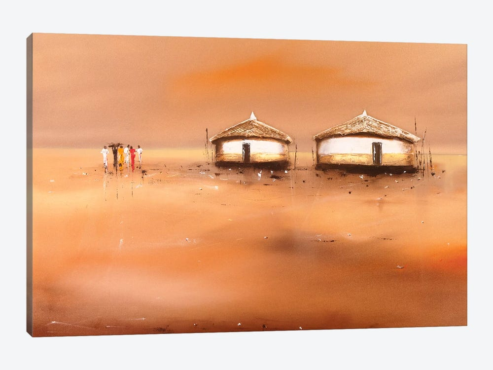 On The Waterfront III 1-piece Canvas Art