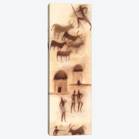 African Impression I Canvas Print #JEN1} by Jan Eelse Noordhuis Canvas Art