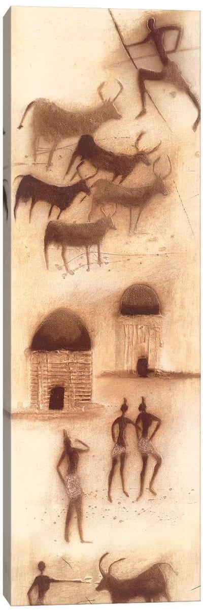 African Impression I Canvas Art Print