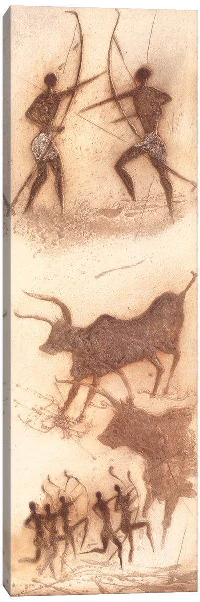 African Impression II Canvas Art Print