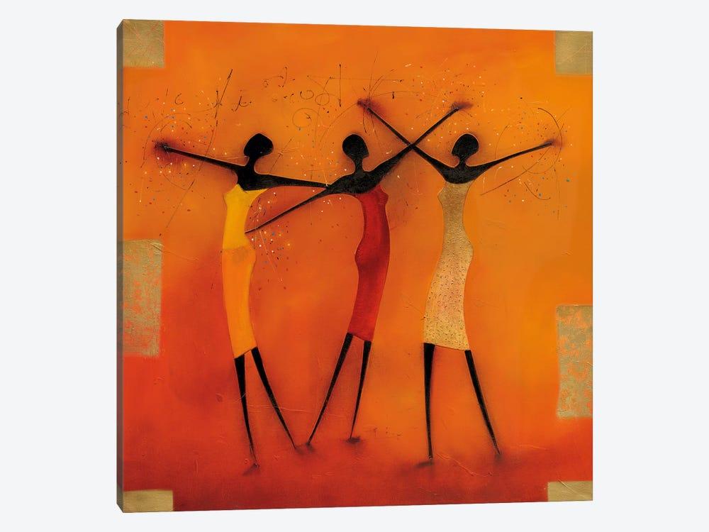 Feel Free I by Jan Eelse Noordhuis 1-piece Canvas Print
