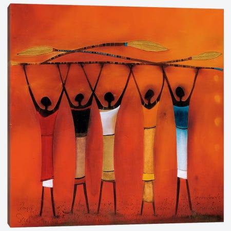 Feel Free II Canvas Print #JEN6} by Jan Eelse Noordhuis Art Print