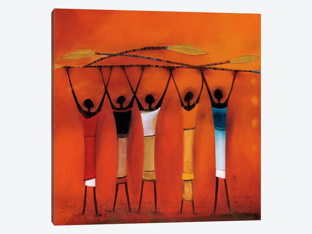Feel Free II by Jan Eelse Noordhuis 1-piece Canvas Art