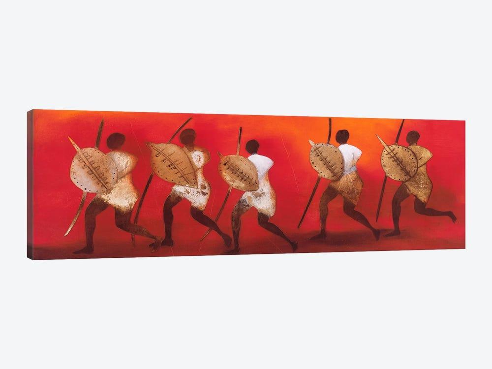 Figuras II by Jan Eelse Noordhuis 1-piece Canvas Artwork