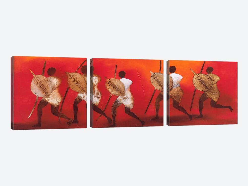 Figuras II by Jan Eelse Noordhuis 3-piece Canvas Art