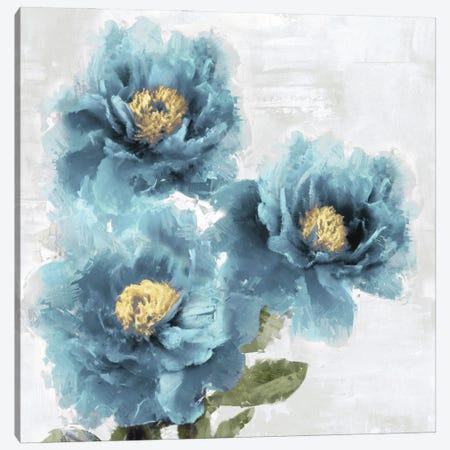 Blue Bloom I Canvas Print #JES21} by Jesse Stevens Canvas Print