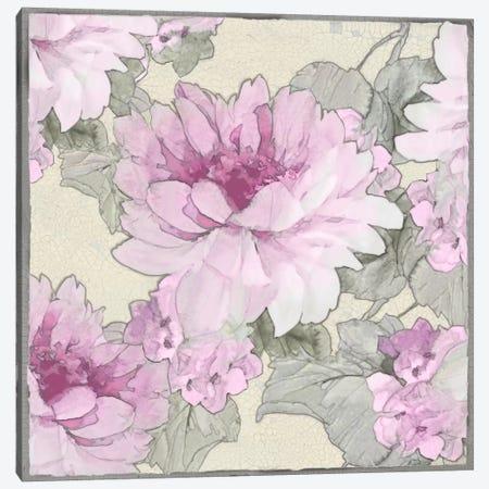 Earthly Delights In Pink II Canvas Print #JES4} by Jesse Stevens Art Print