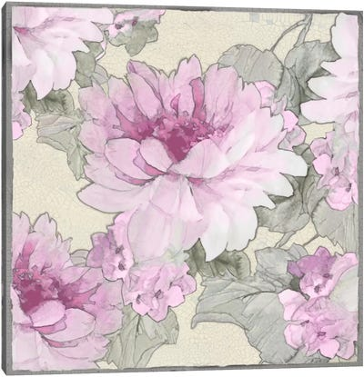 Earthly Delights In Pink II Canvas Art Print