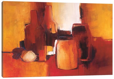 Cans And Bottles I Canvas Art Print
