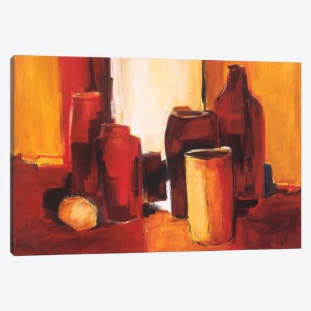 Cans And Bottles II Canvas Print #JET13} by Jettie Roseboom Canvas Print