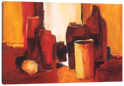 Cans And Bottles II Canvas Art Print