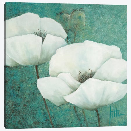 Flora I Canvas Print #JET16} by Jettie Roseboom Canvas Artwork