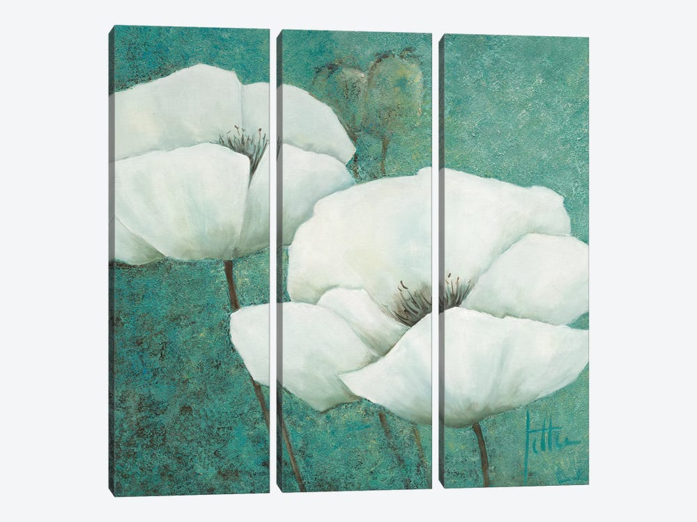 Flora I by Jettie Roseboom 3-piece Canvas Wall Art
