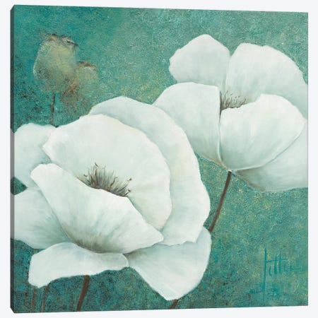 Flora II Canvas Print #JET17} by Jettie Roseboom Canvas Wall Art