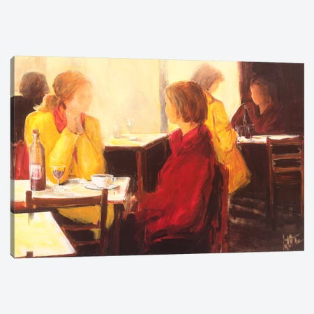 A Good Conversation I Canvas Print #JET1} by Jettie Roseboom Canvas Print