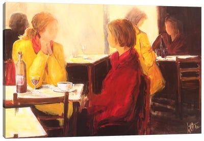 A Good Conversation I Canvas Art Print